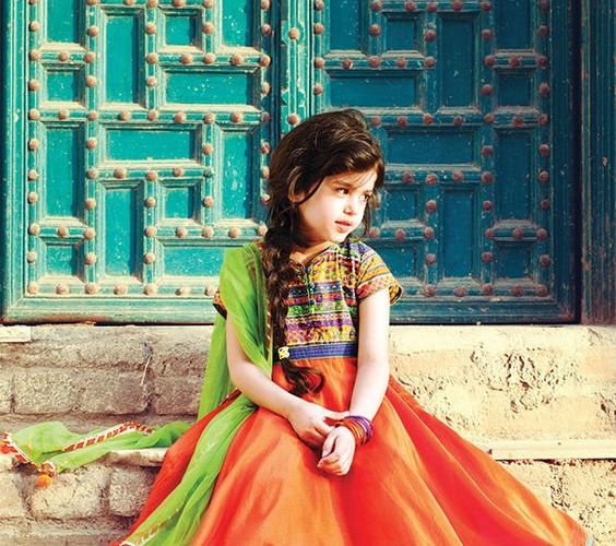 Kids style guide for Navratri dressing