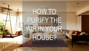 Purify the air in your home 01
