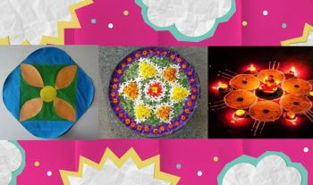 Top 20 Easy Rangoli Designs For Kids