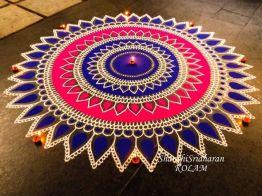 Indian rangoli 08