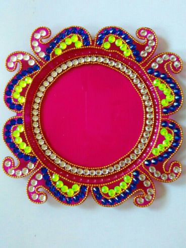 Karwa Chauth Puja Thali Designs 05