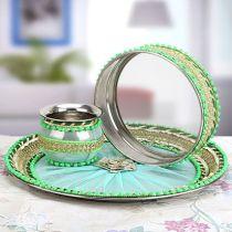 Karwa Chauth Puja Thali Designs 08