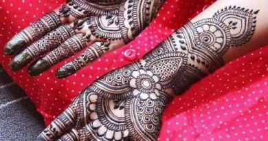 Mehndi Designs For Karwa Chauth (Top 20) - The Champa Tree