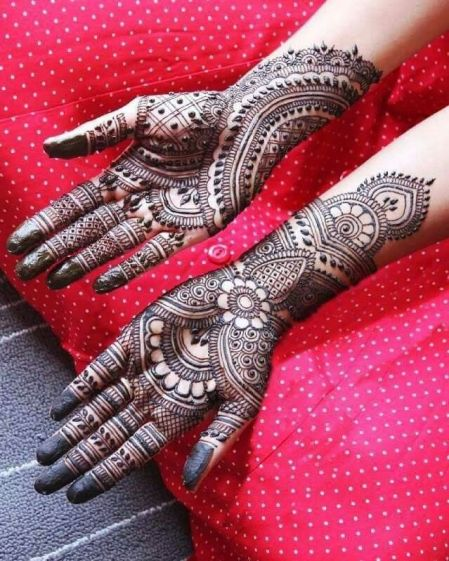 Mehndi designs for karwa chauth 02