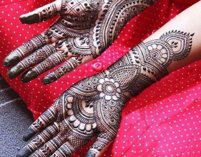 Top 20 mehndi designs for Karwa Chauth