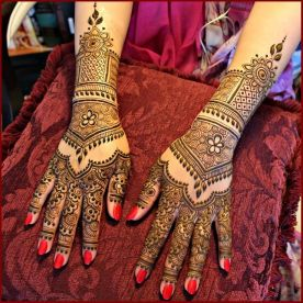 Mehndi designs for karwa chauth 15