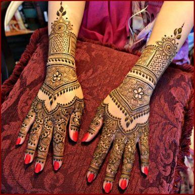 Mehndi designs for karwa chauth 15
