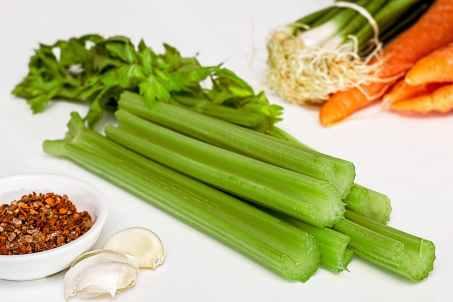 Celery - Water content
