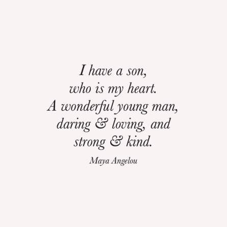 Mother and Son Bonding Mom Quotes