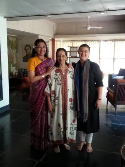 Popular moms - Mallika Sarabhai and Anahita Sarabhai