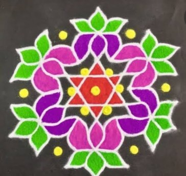Diwali rangoli designs 31