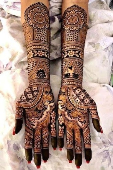Mehndi designs for karwa chauth 23