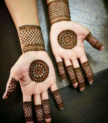 Mehndi designs for karwa chauth 24
