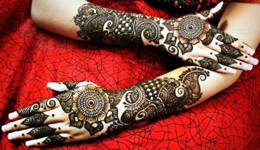 Mehndi designs for karwa chauth 30