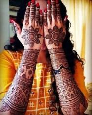 Mehndi designs for karwa chauth 37