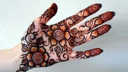 Mehndi designs for karwa chauth 40