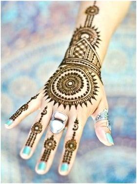 Mehndi designs for karwa chauth 41