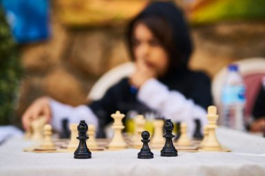 Children Activities - Board Games - Playing Chess (TCT)