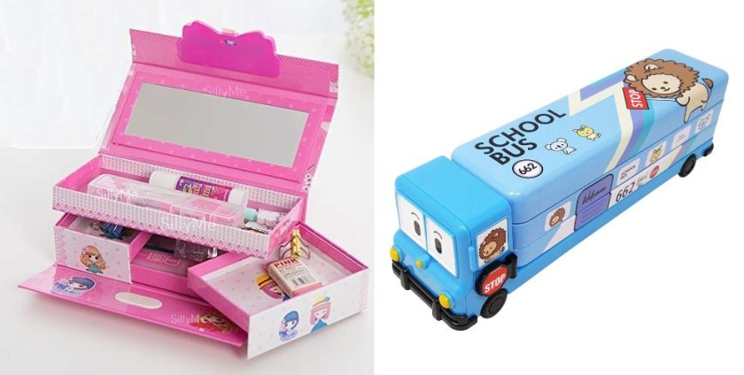Pencil Box for Boys and Girls
