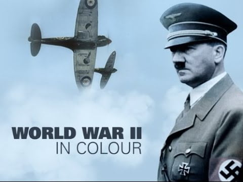 Boring people watch World WarII In Color on Netflix