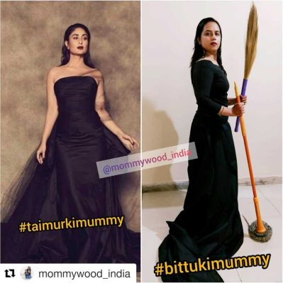 Real Mom  Manali Tiwari - funny IG post on Mommywood_India