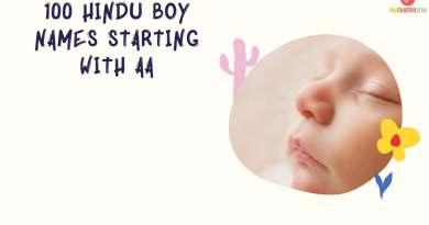 Hindu Boy Names Starting with Aa