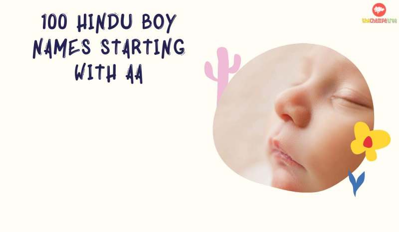 Hindu Boy Names Starting with Aa