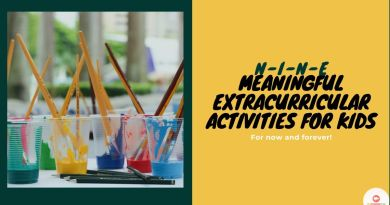 Extracurricular Activities For Kids - color paint and brushes