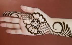 Simple mehndi henna