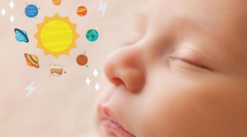 Baby Nakshatra - Newborn baby sleeping