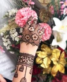 Floral Design - Eid Mehendi Design