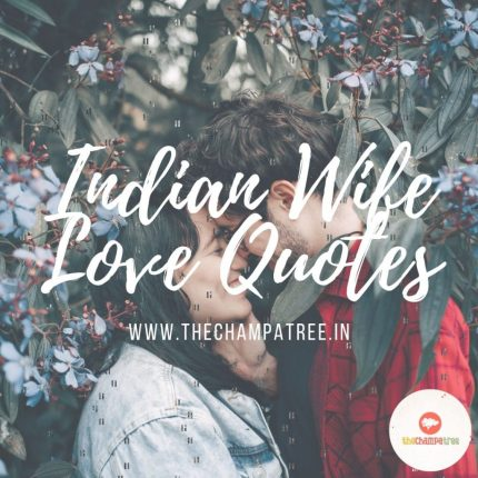 Wife love quotes - Indian wife love quotes
