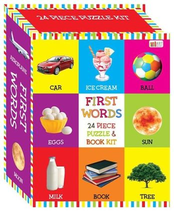 First Words - Infotainment toy game for kids