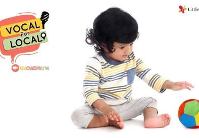 Vocal for Local - Toddler playing with toddler toys from Little Wings