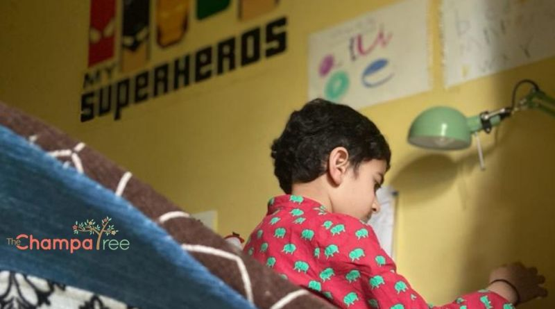 Homeschooling - boy studying at home