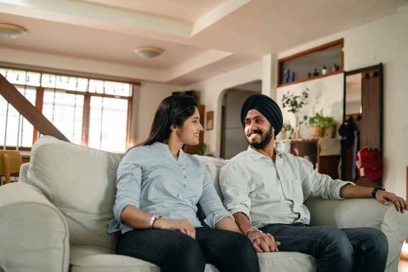 Premarital Counselling - A man and woman holding hands