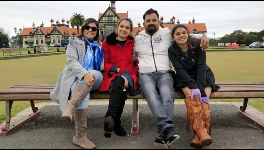 Sheetal Shah with her family