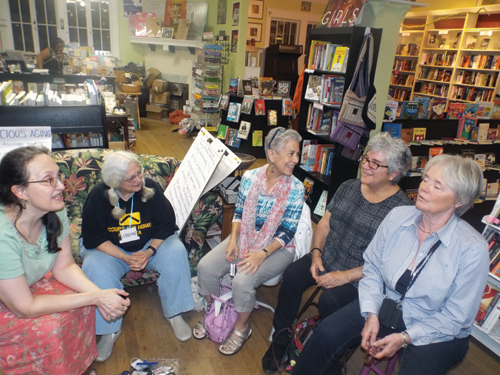 Baby boomers meet at bookstore to plan 'the next chapter'