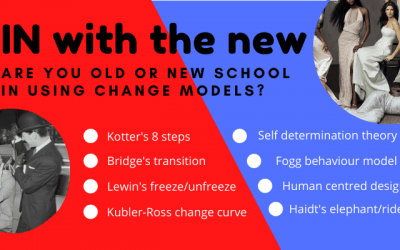 New vs. old change management models