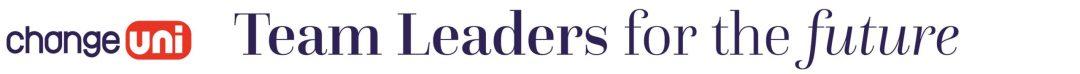 Change uni – Team leaders for the future logo