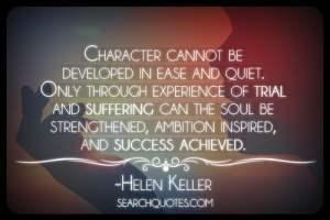 Character Development - Helen Keller