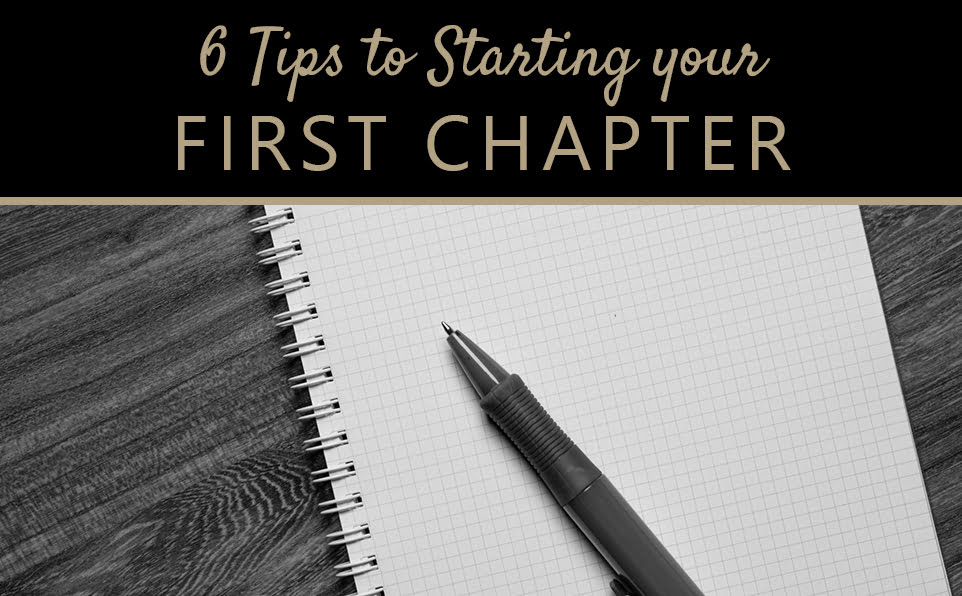 How to start your first chapter