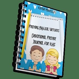 Devotional Prayer Journal For Kids: Praying Biblical Virtues