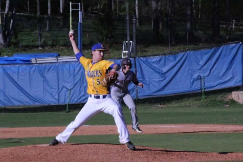 Charger baseball team claims victory over Houston Hilltoppers