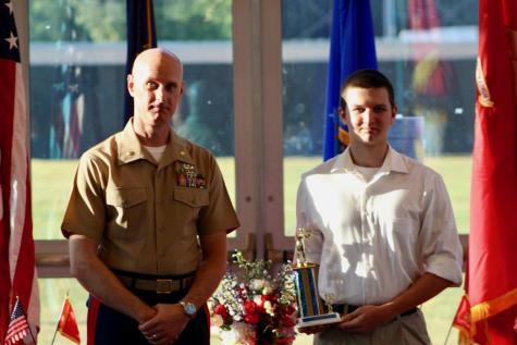 OHS JROTC holds awards banquet in library to honor students' achievements