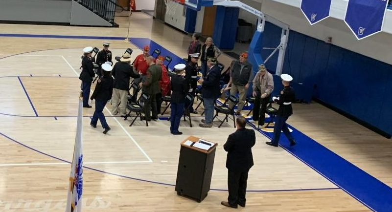 OHS holds its Annual Veteran's Day ceremony