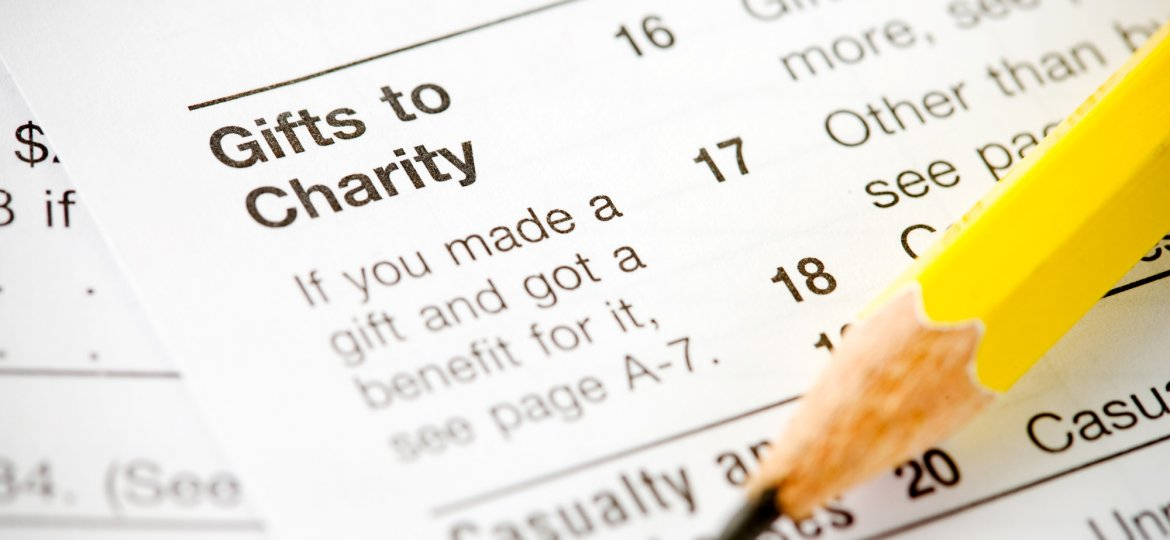 Taxes: Focus On Charitable Deduction Section