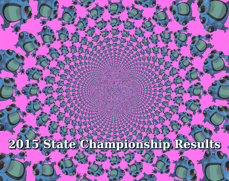 2015 State Championship Results