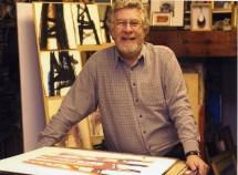 Bob Tilling in his Jersey Studio
