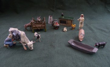 From a selection of Britain's models owned by Charles. Some are now on display at the Lawrence house Museum in Launceston.